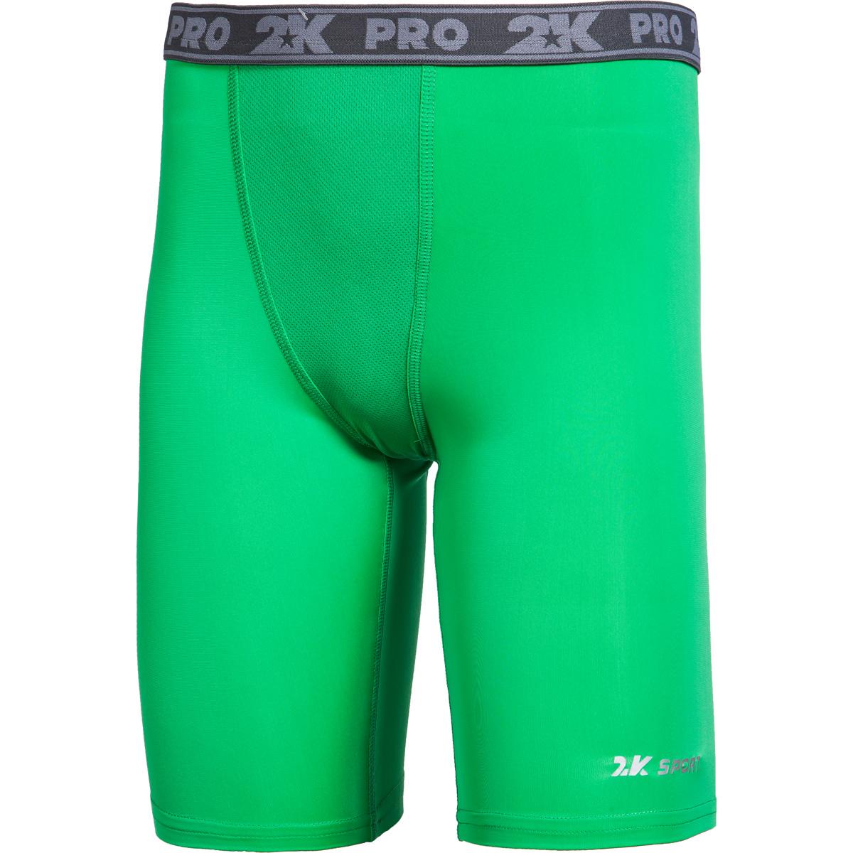 Тайтсы 2K Sport Team, цвет: зеленый. 120815. Размер XS (44) 2k sport 2k sport fenix pro cotton ls