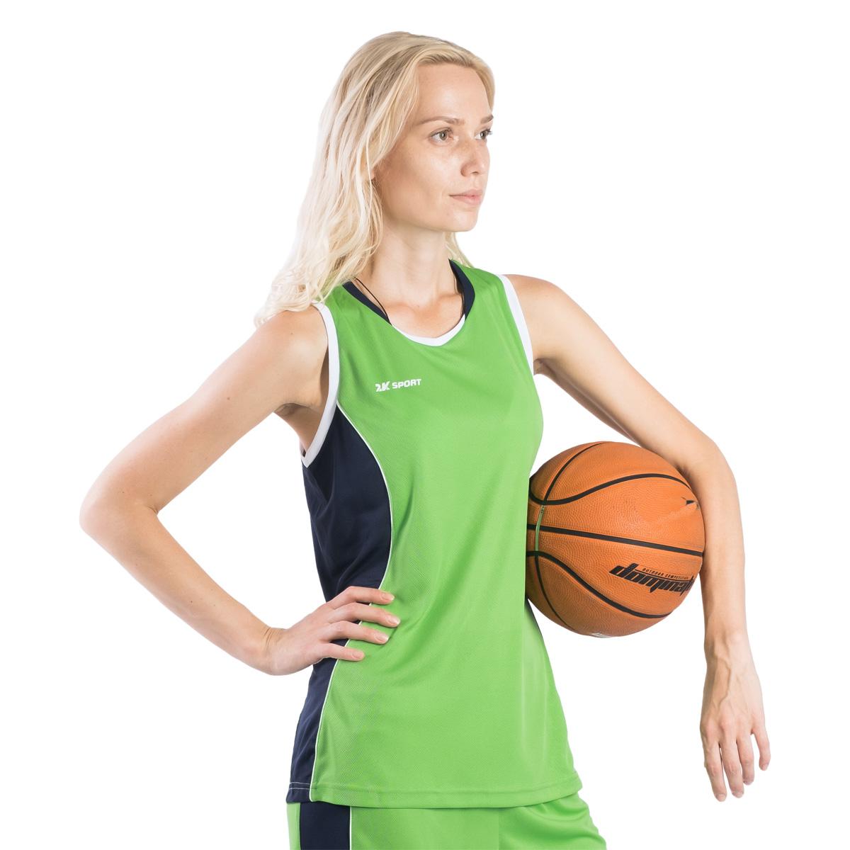 Профессиональная баскетбольная игровая майка от 2K Sport создана для того, чтобы вам ничего не мешало демонстрировать великолепную игру на паркете против самых грозных соперников. Полуприлегающий силуэт подчеркивает женственную фигуру и обеспечивает комфорт во время движения. Оригинальные цветовые решения для красивых побед.