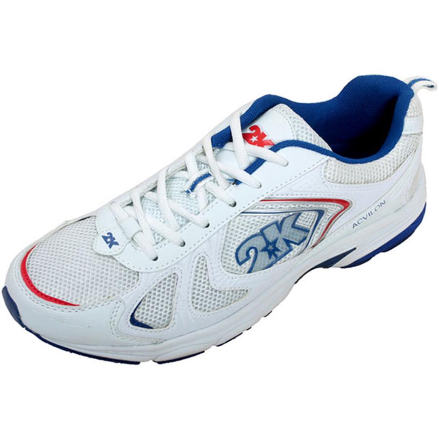Кроссовки для бега 2K Sport Acvilon, цвет: белый, синий, красный. 115014. Размер 35