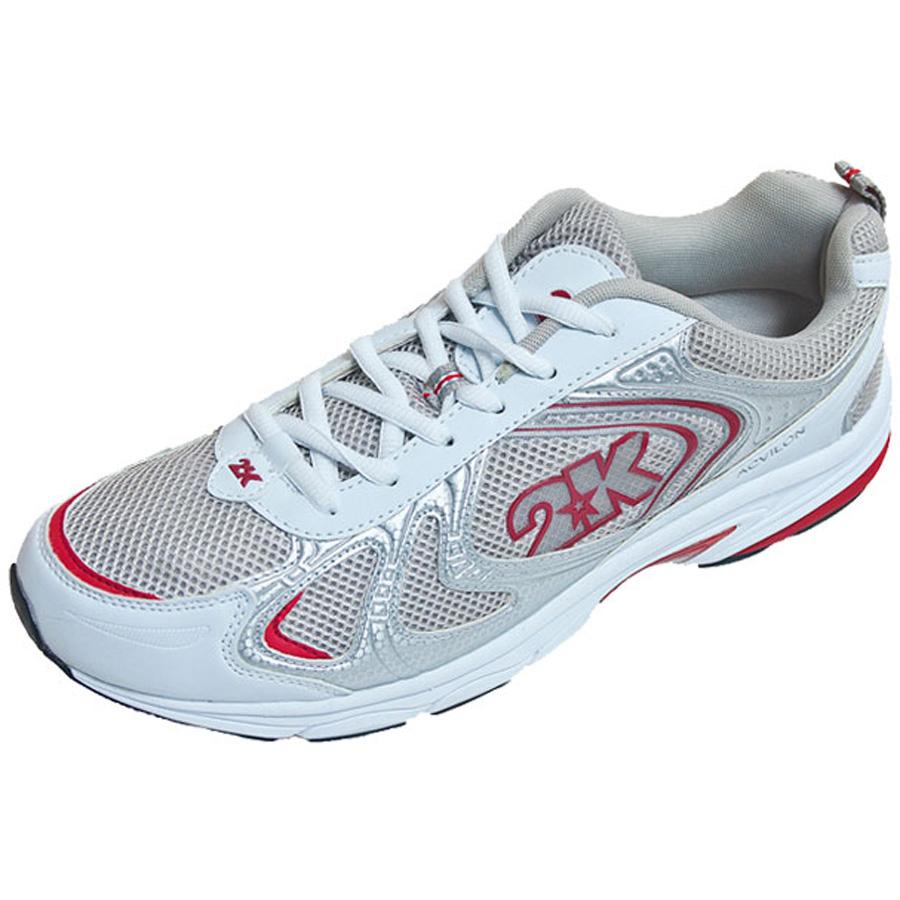 Кроссовки для бега 2K Sport Acvilon, цвет: белый, красный. 115014. Размер 36