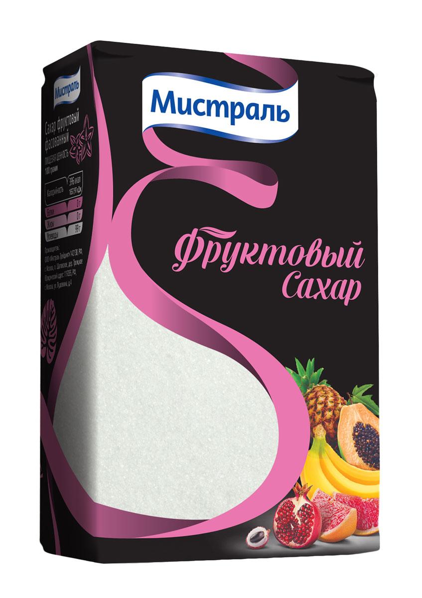 Мистраль Сахар фруктовый, 500 г58601Фруктовый сахар — это натуральный продукт, который содержится в ягодах, фруктах и цветочном нектаре. Он является здоровой и диетической заменой традиционного свекловичного сахара. Фруктовый сахар в два раза слаще свекловичного сахара и лучше усваивается организмом. Он снижает процент возникновения кариеса и помогает адаптации организма при длительном состоянии напряжения: вождение автомобиля, в спорте и при интенсивных физических нагрузках. Фруктовый сахар обладает уникальным свойством усиливать природный аромат ягод и фруктов. Он идеально подходит для приготовления десертов, каш, выпечки, джемов и варенья. Сахар прекрасно растворяется подчеркивая вкус чая и кофе.