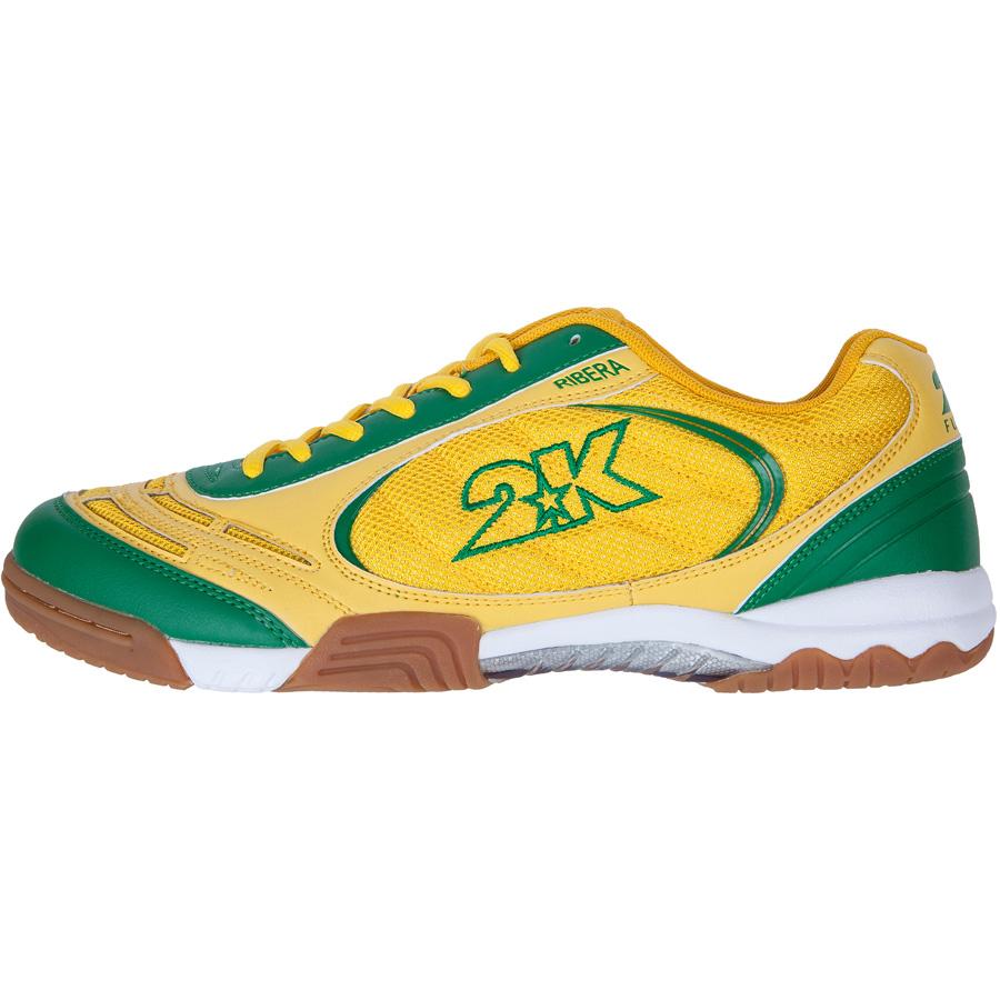 Кеды 2K Sport Ribera, цвет: желтый, зеленый. Размер 44 повязка капитанская 2k sport captain цвет светло зеленый черный