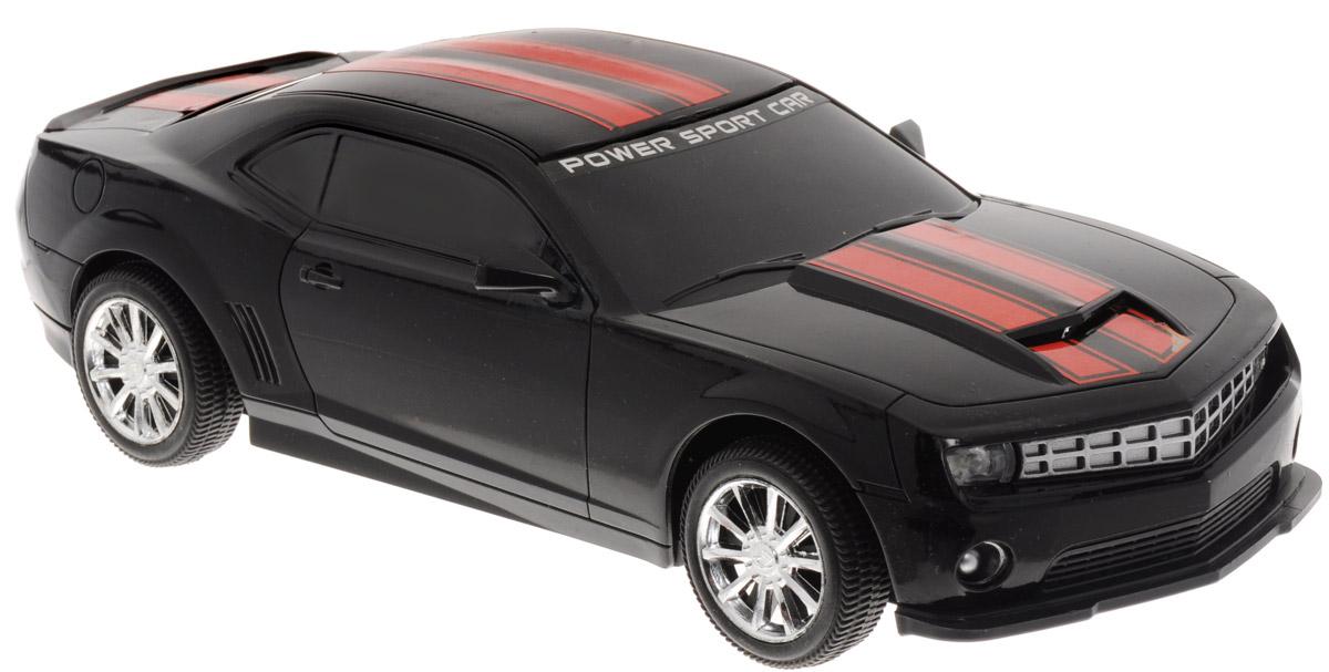 Junfa Toys Машинка инерционная Racing цвет черный