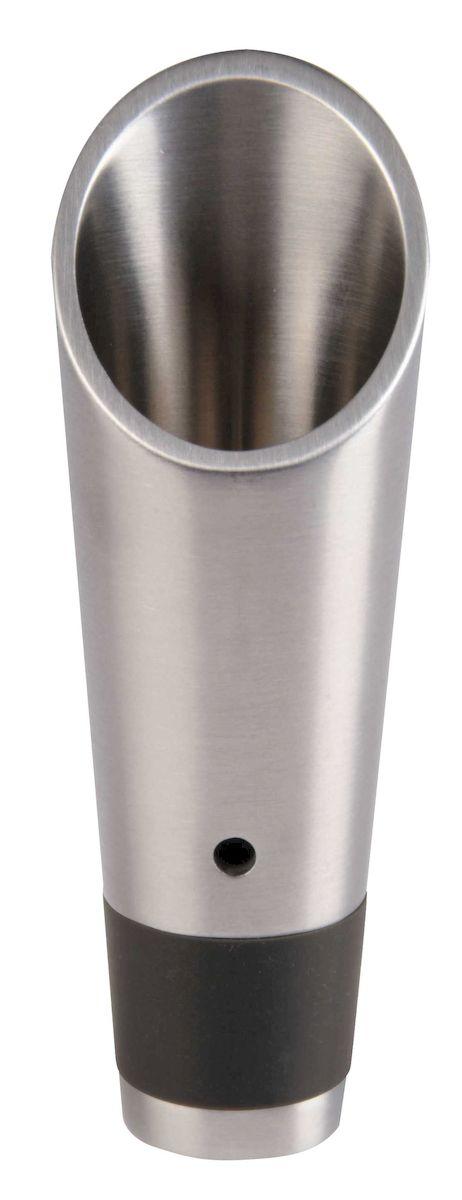 Воронка Latelier Du Vin Версер Фильтр, с сетчатым фильтром95182Воронка Latelier Du Vin Версер Фильтр выполнена из металла с силиконовой вставкой. Изделие оснащено сетчатым фильтром. Воронка служит для отделения винного осадка и аэрации вина, а также позволяет аккуратно разлить вино по бокалам.