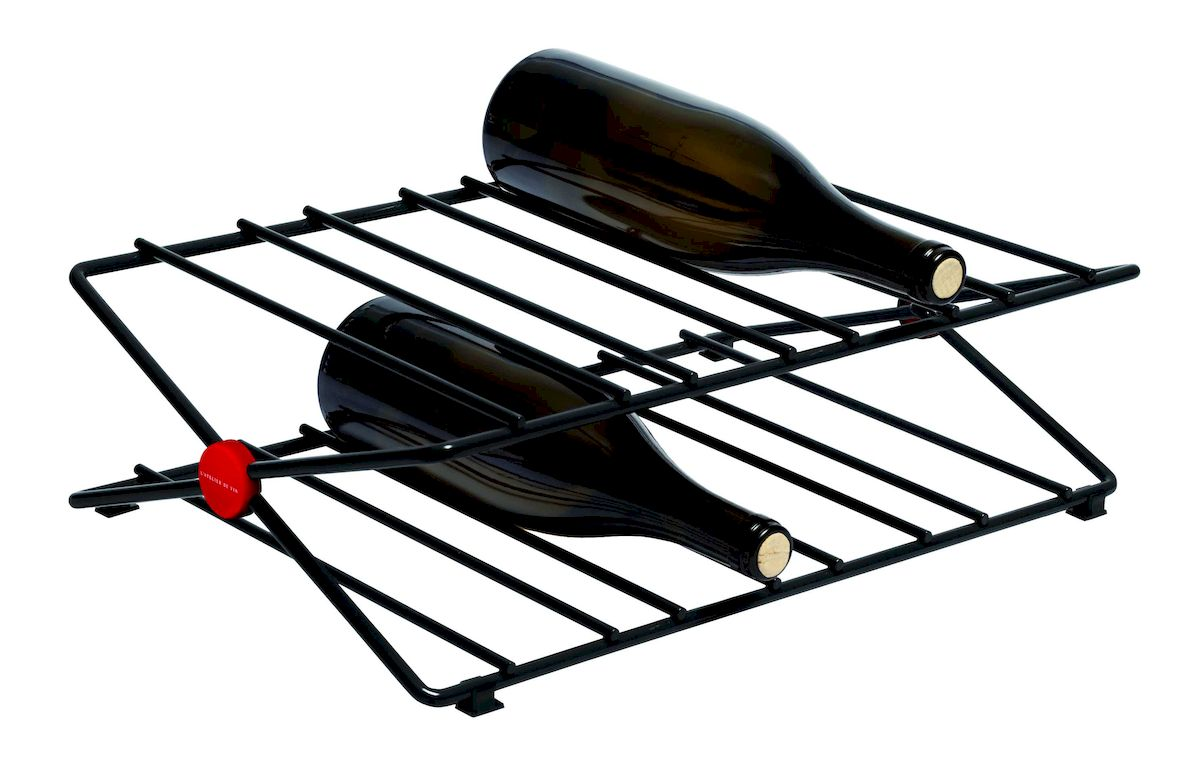 Стеллаж для бутылок L'ATELIER DU VIN Сити Рек, нержавеющая сталь пробка для шампанского с индикатором давления пузырьков l atelier du vin l