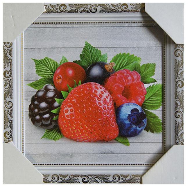 Картина в раме Proffi Home Ягодный десерт, 25 х 25 см картины в квартиру картина etude 2 102х130 см