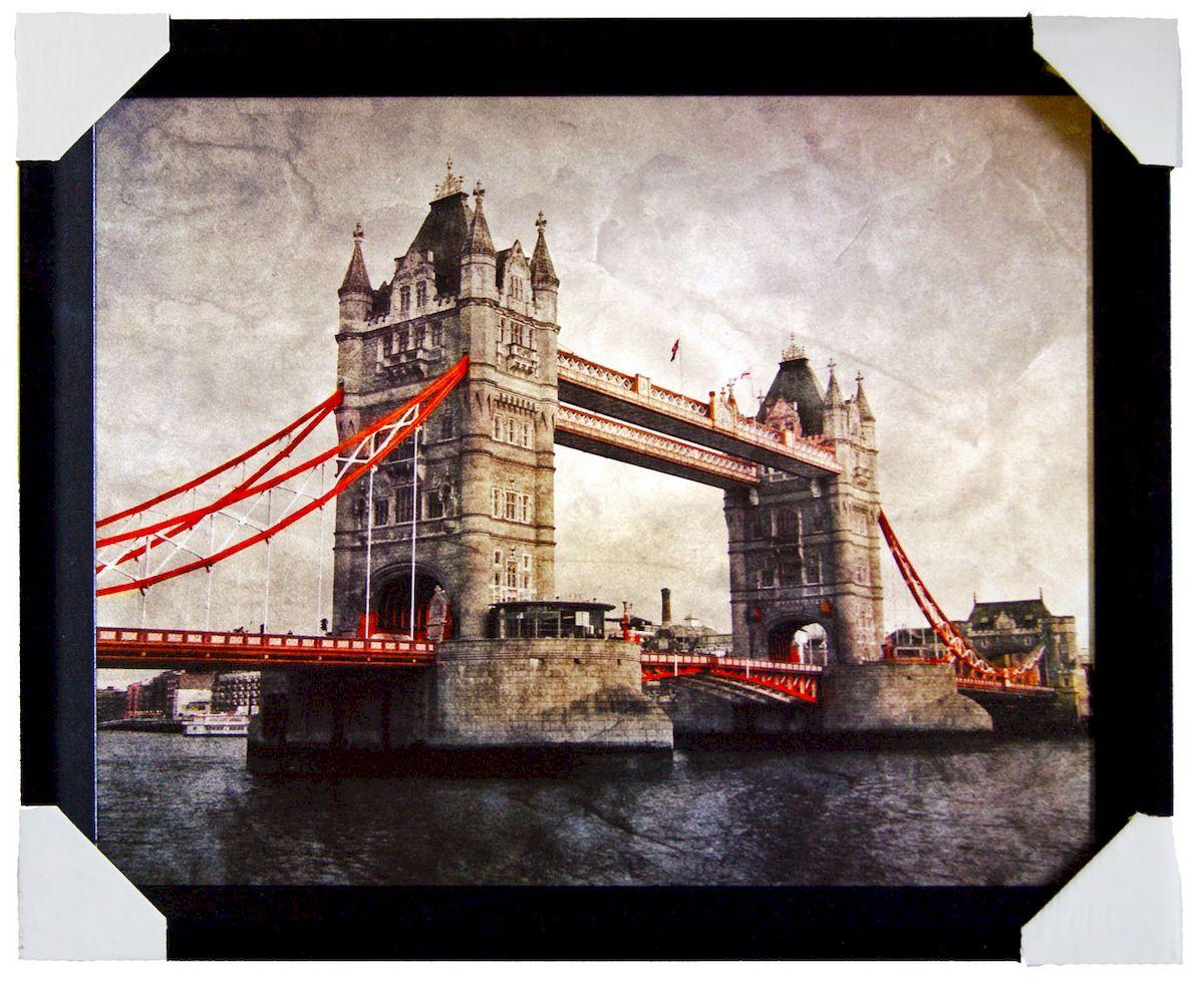 Картина в раме Proffi Home Тауэрский мост. Ретро, 40 х 50 см proffi films pfm021