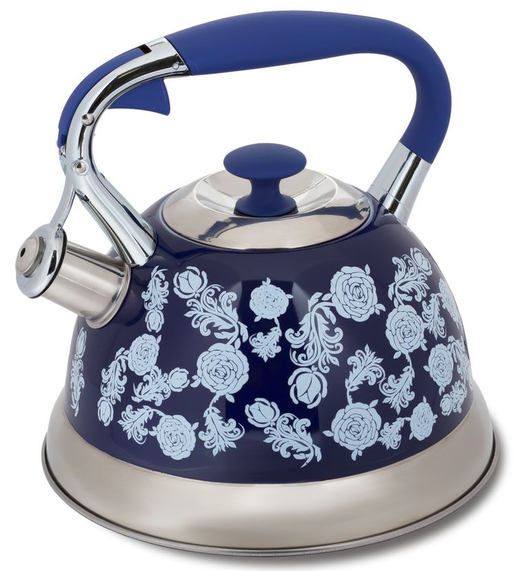 Чайник Hoffmann, со свистком, 3 л. НМ 5530 чайник hoffmann со свистком цвет бежевый 2 л hm 5528 1