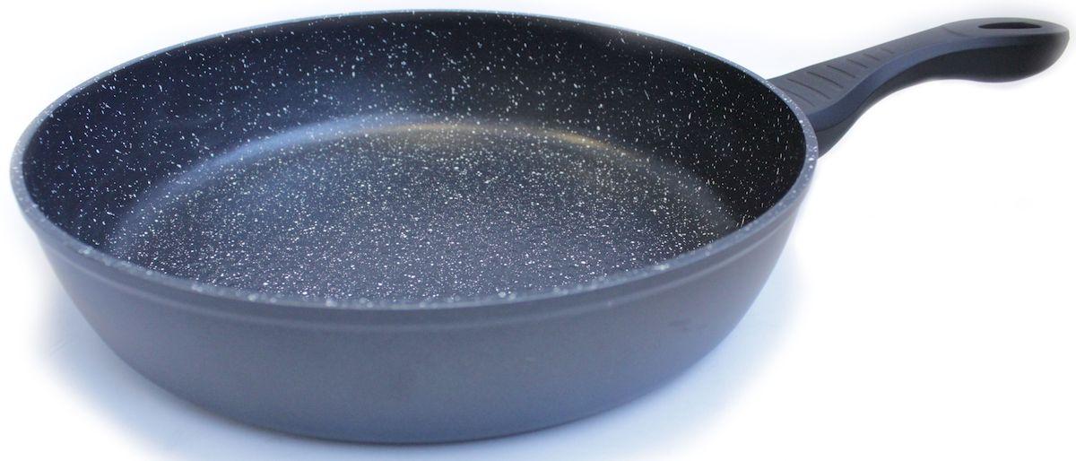 Сковорода Hoffmann, цвет: черный. Диаметр 22 см. НМ 622НМ 622Сковорода Hoffmann выполнена из высококачественного алюминия. Сковорода имеет удобную эргономичную ручку. В процессе приготовлениярекомендуется использовать деревянные или пластиковые лопатки. Неиспользуйте металлические губки и острые предметы, чтобы удалить остаткипищи с посуды, а также отбеливатели и моющие средства, содержащие хлор.