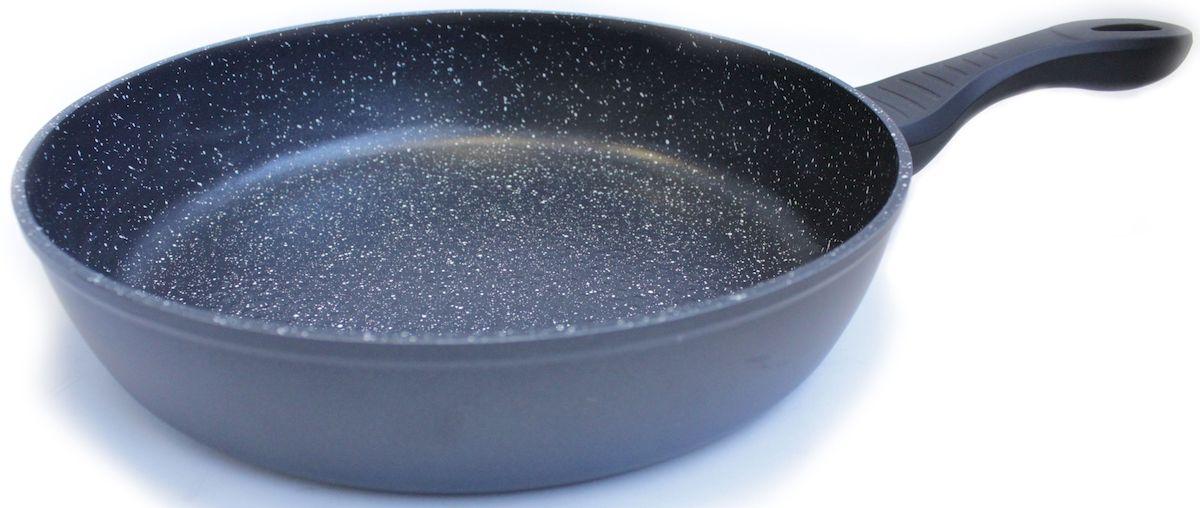 Сковорода Hoffmann, цвет: медные огурцы, диаметр 24 см. НМ 624 набор кастрюль hoffmann цвет серебристый красный 12 предметов hm 5114
