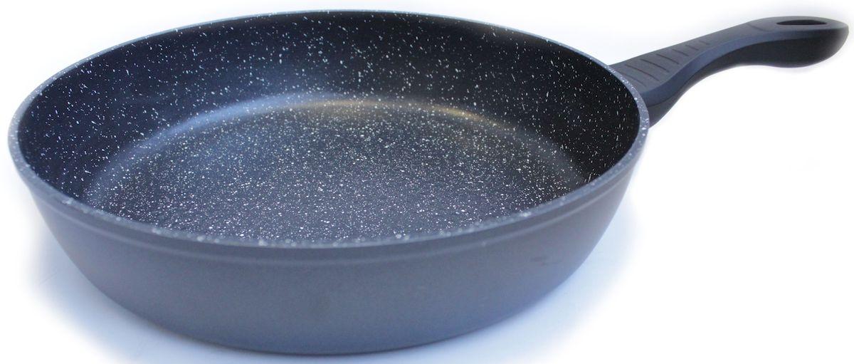 Сковорода Hoffmann, цвет: серебристый, диаметр 28 см. НМ 628НМ 628