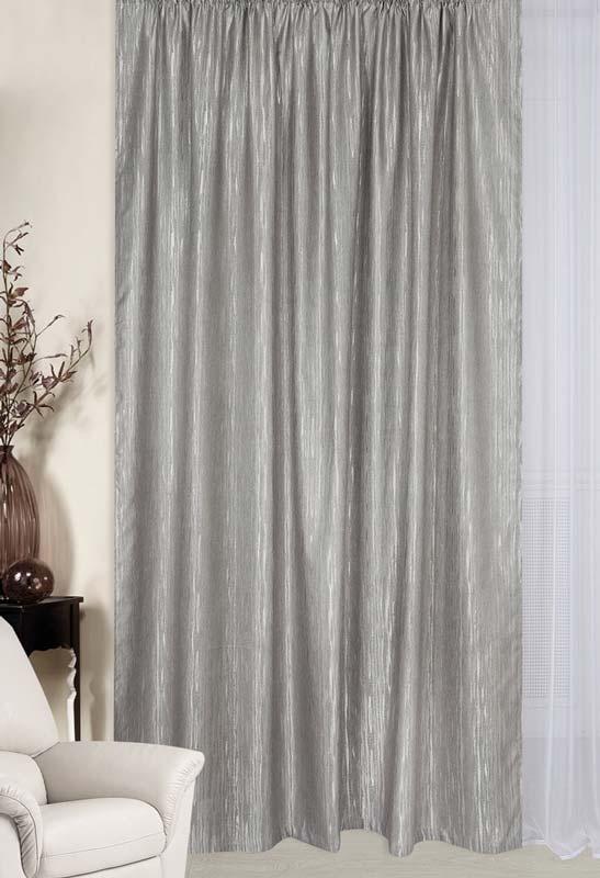 """Легкая гардина ТД Тексиль, изготовленная из высококачественного полиэстера с """"эффектом штукатурки"""", станет великолепным украшением любого окна.  Оригинальное оформление гардины внесет разнообразие в интерьер.  Крепится при помощи шторной ленты.  Светопроницаемость: 20%."""