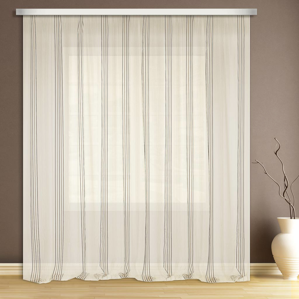 Тюль ТД Текстиль, на ленте, цвет: белый, высота 280 см. 8953389533Тюль прекрасно подойдет для кухни в современном дизайне. Крепление к карнизу осуществляется с использованием ленты.