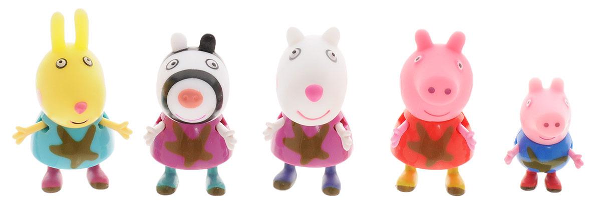 Peppa Pig Набор фигурок Пеппа и друзья 5 шт peppa pig набор фигурок пеппа на каникулах 2 шт