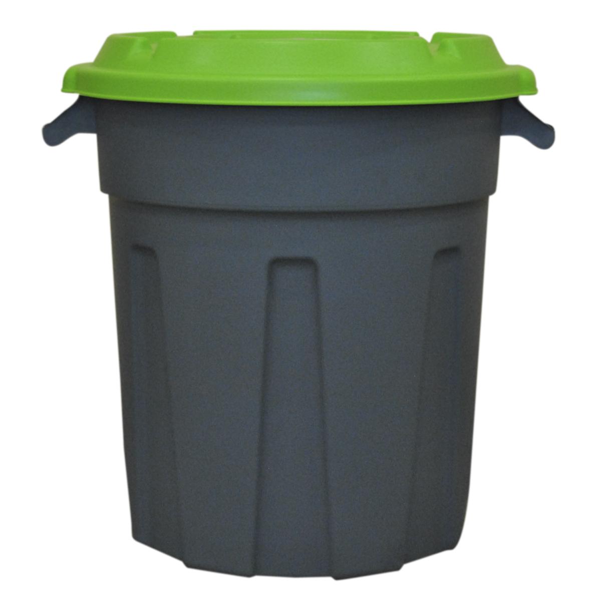 Мусорный бак InGreen, с крышкой, 60 лING6160Пластиковый мусорный бак InGreen предназначен для применения в быту. Изготовлен из материала, обеспечивающего изделию повышенную прочность. Крышка бака обеспечивает плотное закрывание. На дне бака предусмотрена площадка для установки колес.Размер изделия: 54,3 х 48 х 54,5 см.