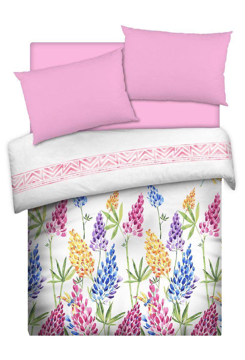 Комплект белья Carte Blanche Lupinus, 1,5-спальный, наволочки 50x70. 335911335911Коллекция эксклюзивного постельного белья, созданная итальянскими дизайнерами прекрасногостаринного городка Италии - Riva del Gard. Постельное белье выполнено из великолепной ткани премиум - класса Percale Soft Touch. Эта ткань произведена из 100% натурального хлопкаимеет специальную обработку Wise Silk, которая придает дополнительную гладкость и шелковистость ткани. Благодаря специальной обработке ткань более приятная на ощупь, практически не мнется.