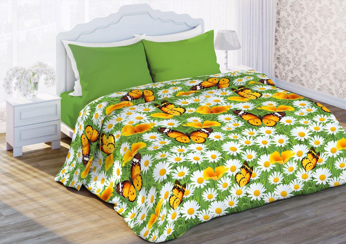 Комплект белья Любимый дом Ромашковая поляна, 2-спальный, наволочки 70x70351187Комплект постельного белья коллекции Любимый дом выполнен из высококачественной ткани - из 100% хлопка. Такое белье абсолютно натуральное, гипоаллергенное, соответствует строжайшим экологическим нормам безопасности, комфортное, дышащее, не нарушает естественные процессы терморегуляции, прочное, не линяет, не деформируется и не теряет своих красок даже после многочисленных стирок, а также отличается хорошей износостойкостью.