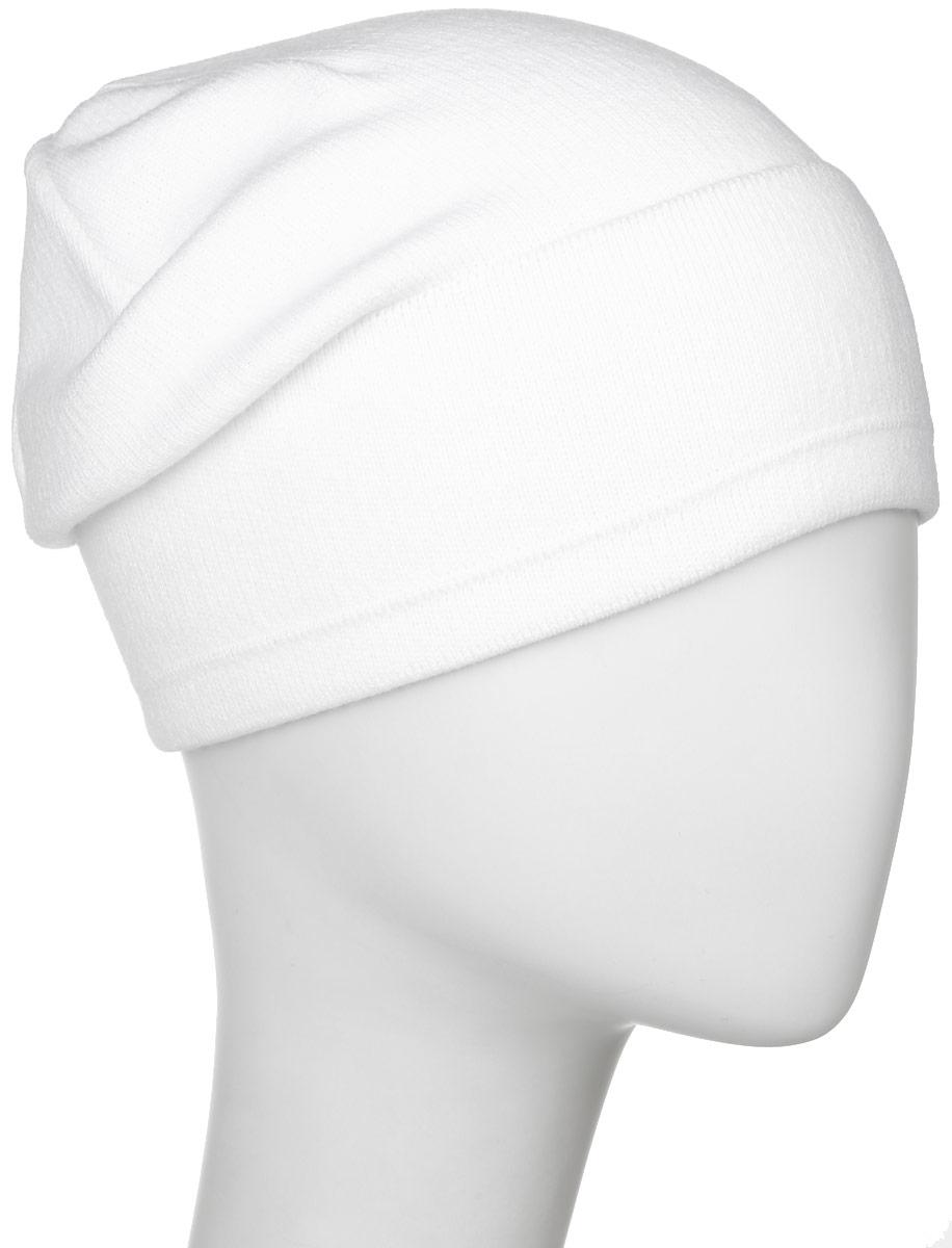 Шапка мужская Elfrio, цвет: белый. RYH6984. Размер 57/59RYH6984Теплая мужская шапка Elfrio отлично дополнит ваш образ в холодную погоду. Выполненнаямодель из высококачественного акрила, сохраняет тепло и обеспечивает удобную посадку, невероятную легкость и мягкость.Удлиненная шапка выполнена мелкой вязкой и дополнена небольшим отворотом с фирменной нашивкой. Модель составит идеальный комплект с модной верхней одеждой, в ней вам будет уютно и тепло.Уважаемые клиенты!Размер, доступный для заказа, является обхватом головы.