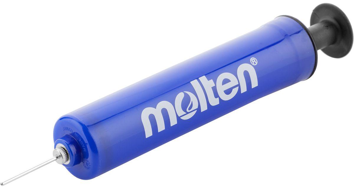 Насос ручной Molten Single Action. HP-18-BHP-18-BРучной насос Molten выполнен из пластика, подходит для всех типов мячей. В комплекте идет игла, изготовленная из стали, которая хранится в специальном отсеке насоса.Длина насоса: 19 см.