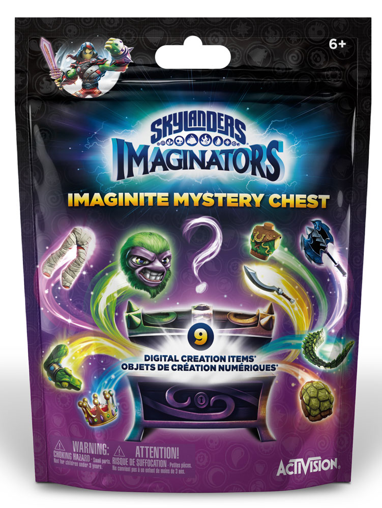 Skylanders Imaginators. Mystery Сhest skylanders imaginators набор из 8 кристаллов стихии tech life undead earth water light magic dark
