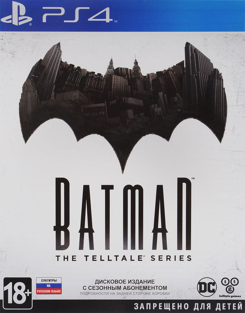Batman: The Telltale Series (PS4) игра для xbox batman the telltale series