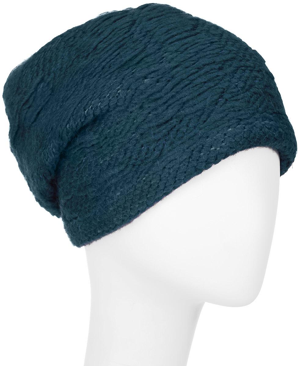 Шапка женская Vittorio Richi, цвет: изумрудный. 341880I. Размер 56/58341880I-52Элегантная женская шапка Vittorio Richi отлично дополнит ваш образ в холодную погоду. Сочетание шерсти, полиамида и ангоры сохраняет тепло и обеспечивает удобную посадку, невероятную легкость и мягкость.Удлиненная шапка по низу выполнена объемной вязкой. Оформлена модель в однотонном лаконичном стиле. Модель составит идеальный комплект с модной верхней одеждой, в ней вам будет уютно и тепло.Уважаемые клиенты!Размер, доступный для заказа, является обхватом головы.