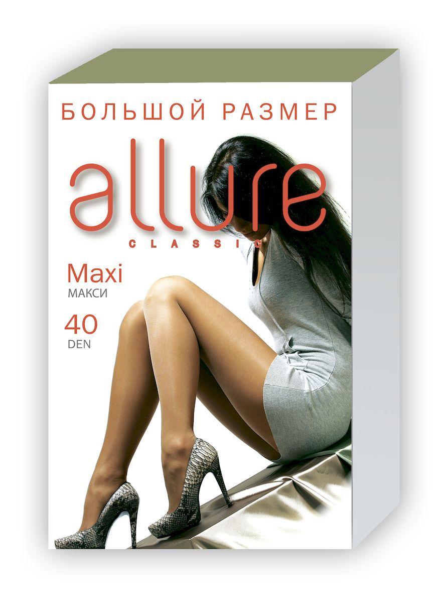 Колготки Allure Maxi 40, цвет: Glase (загар). Размер 8 колготки allure allure mp002xw134cf