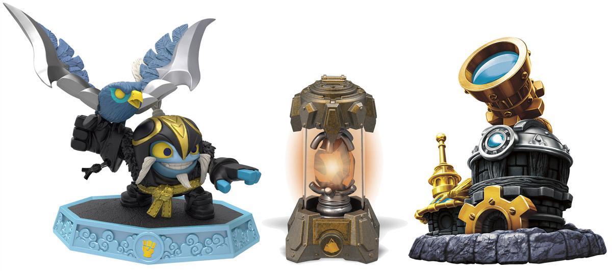Skylanders Imaginators. Набор фигурок Adventure Pack (Сэнсэй Air Strike, кристалл Earth, Observatory), Toys For Bob