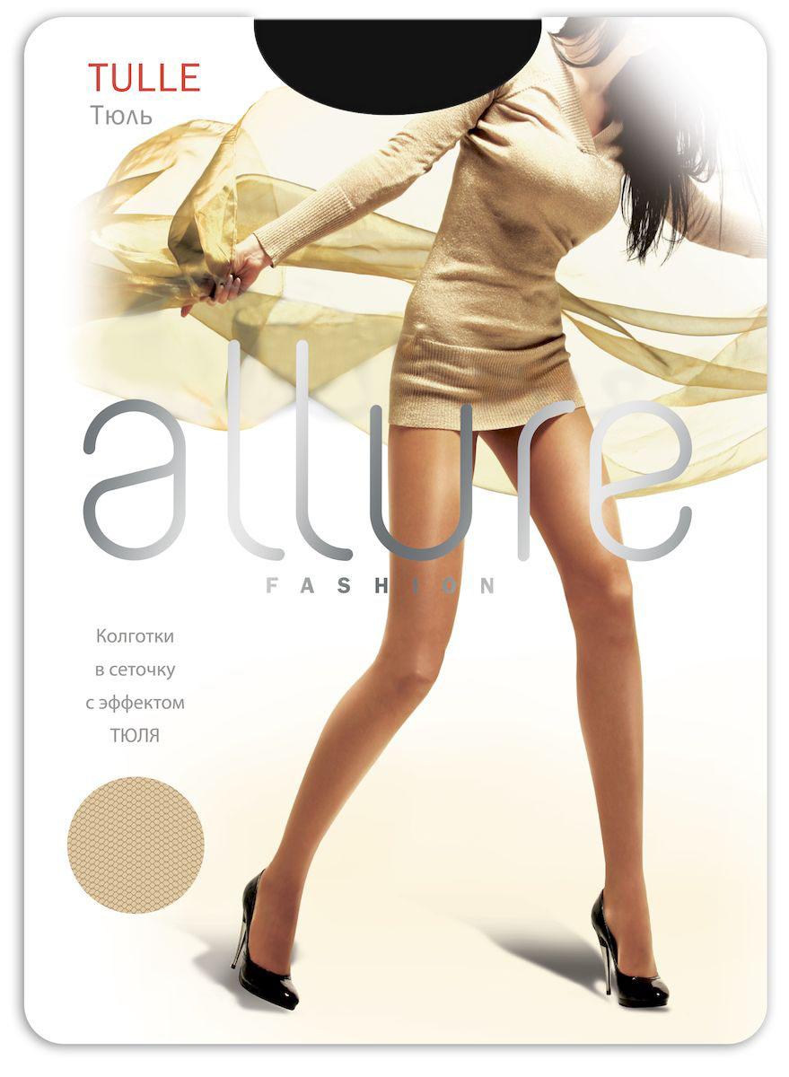 Колготки Allure Tulle 20, цвет: Nero (черный). Размер 3/4 колготки allure allure mp002xw134cf
