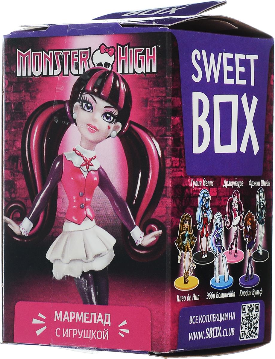 SweetBox Monster High мармелад с игрушкой в коробочке, 10 гMX-10-MA-1976 очаровательных девочек-монстряшек! Собери подружек вместе!