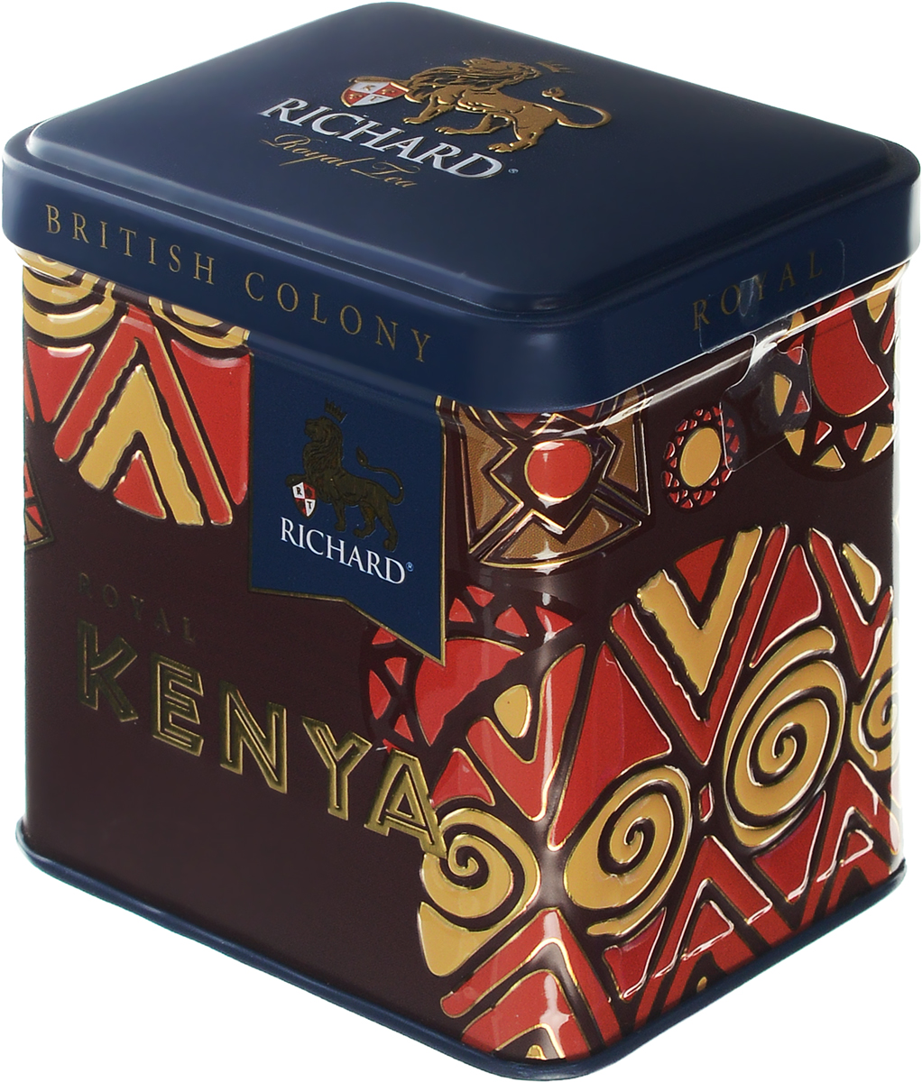 Richard British Colony Royal Kenya черный листовой чай, 50 г
