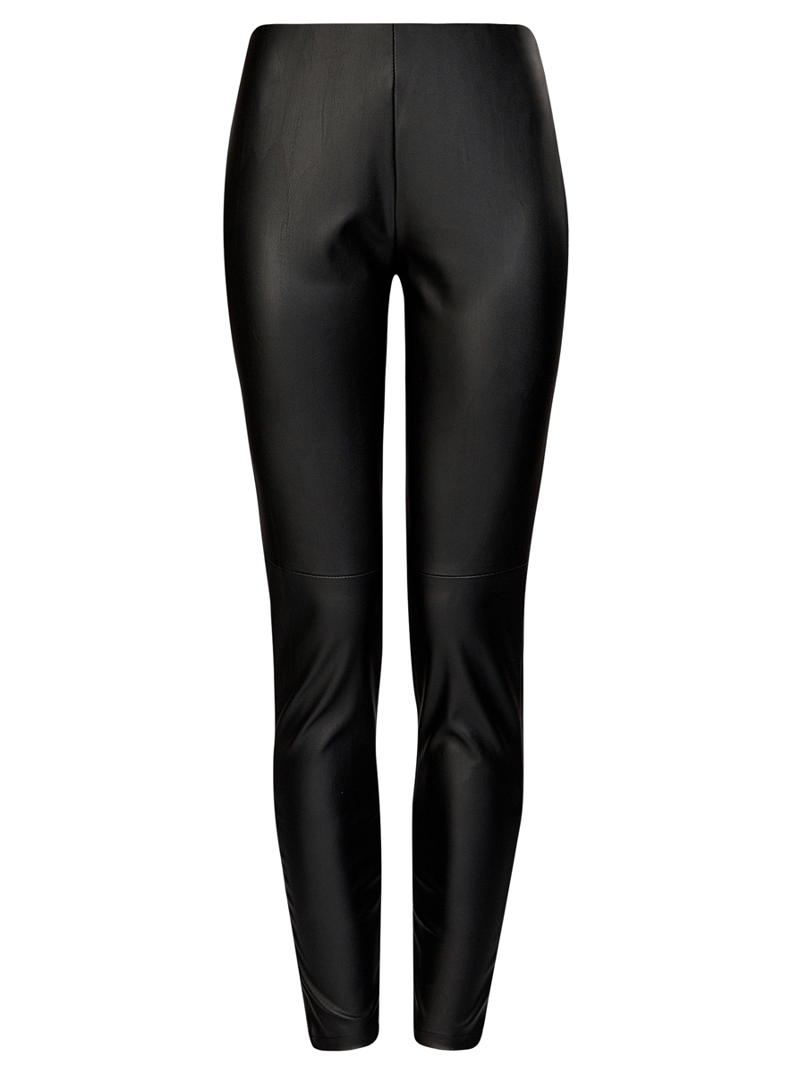 Брюки женские oodji Ultra, цвет: черный. 18G07001/45085/2900N. Размер 44 (50-170)