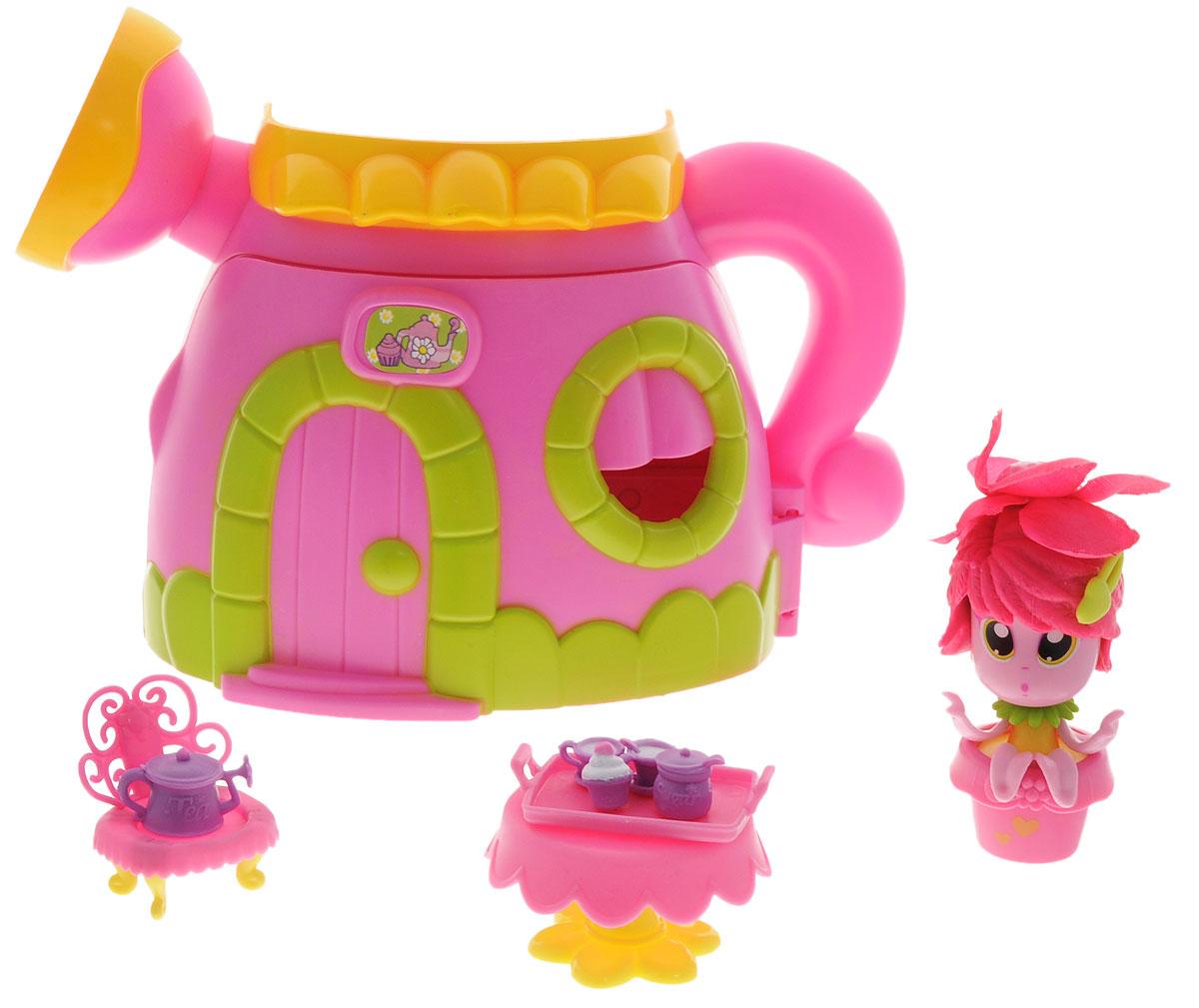 Daisy Игровой набор с мини-куклой Цветочек с домом