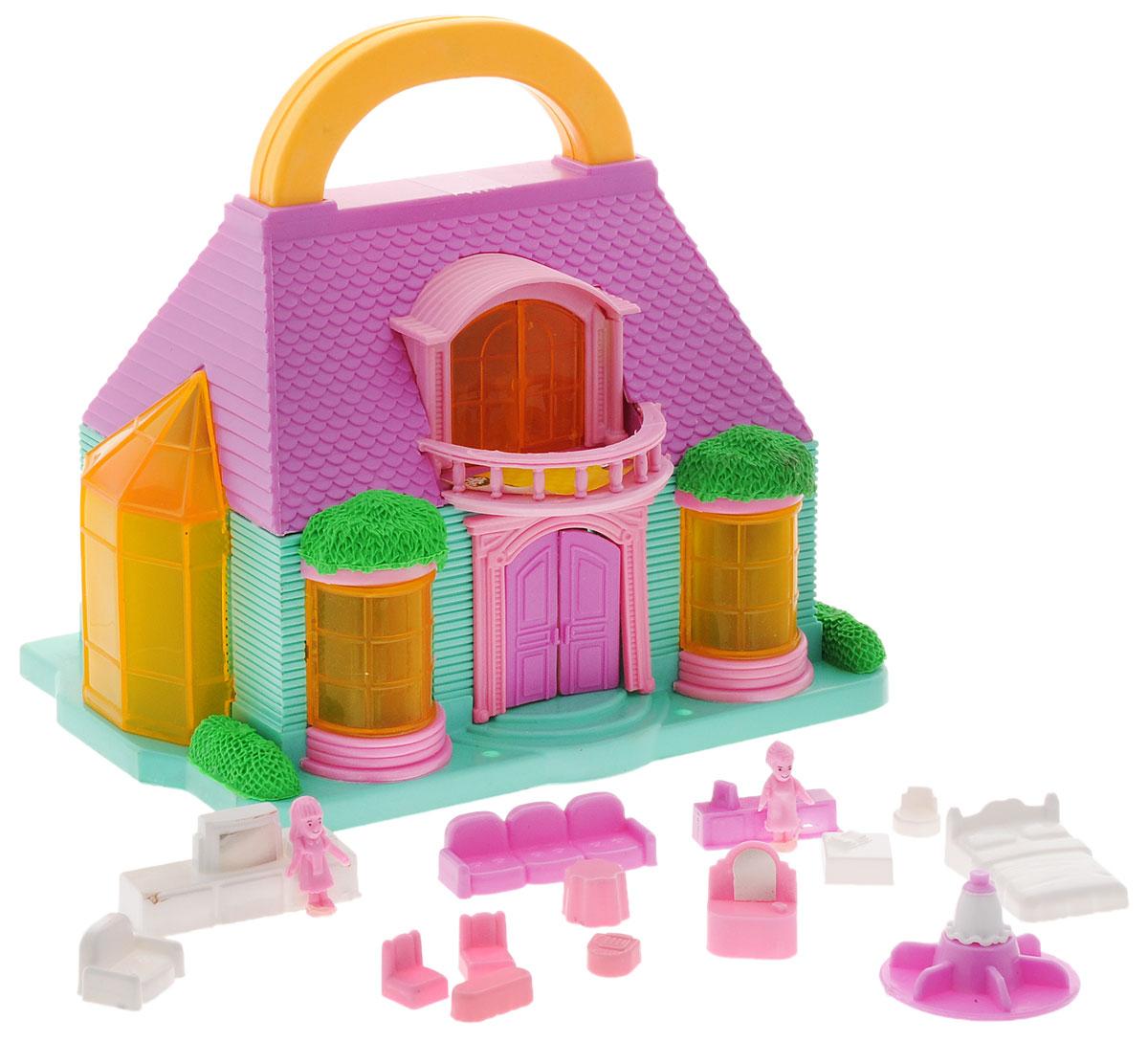 ABtoys Летний домик для кукол большой дом для кукол купить