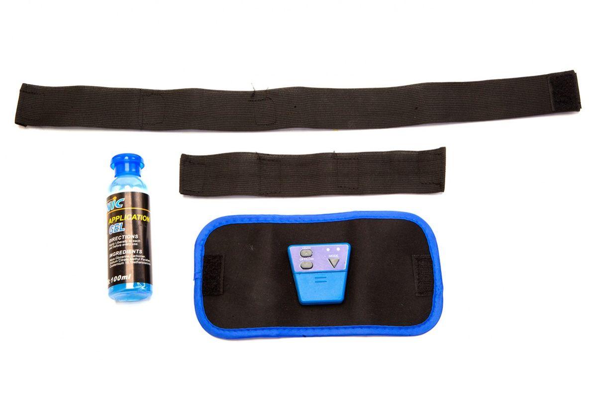 """Миостимулятор """"Bradex"""" заставляет мышцы пресса, рук, предплечий, ног и ягодиц сокращаться под действием безболезненных электрических  импульсов. Он имеет 6 режимов и 10 видов нагрузки.  В набор входят: миостимулятор, 2 ремня разной длины, активирующий гель-смазка, инструкция на русском языке.  Батарейка CR2032 в комплекте."""