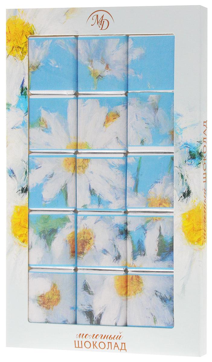 Монетный двор Цветы Ромашки набор молочного шоколада, 75 г (пазл) набор bebe confort из 2 нагрудничков