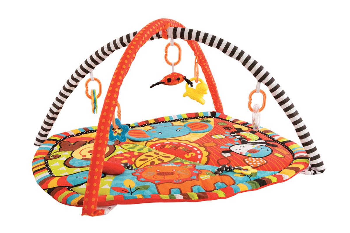 Жирафики Развивающий коврик Ушастики