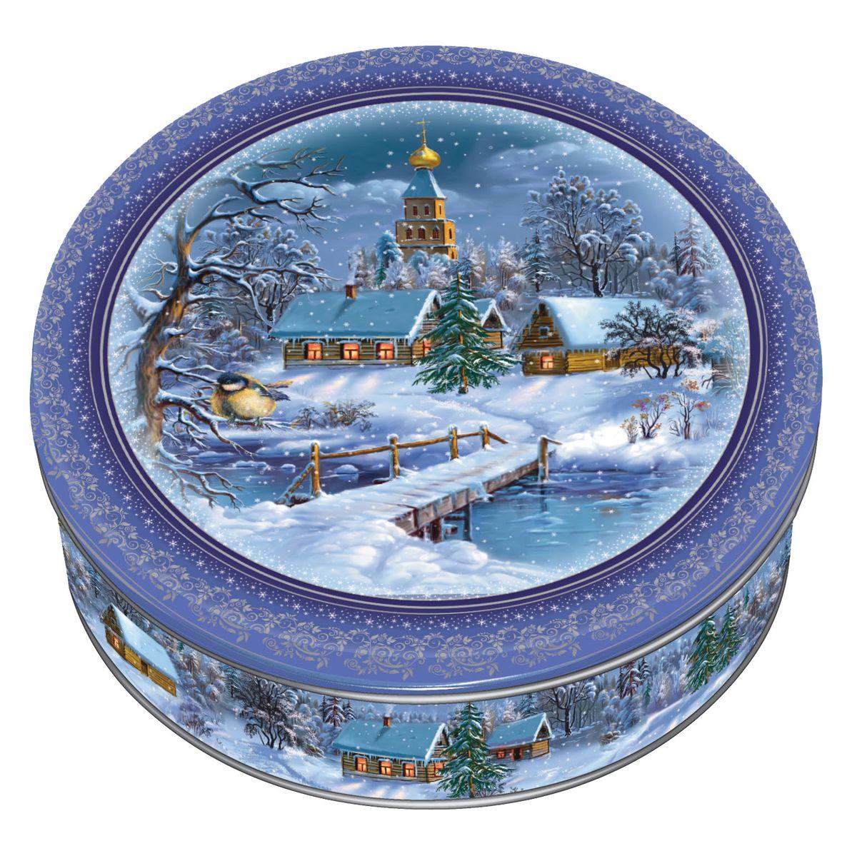 Сладкая Сказка Печенье Зимний вечер, 400 гMC-4-20Зимний вечер — это вкуснейшее сдобное печенье, которое изготавливается из отборных и натуральных ингредиентов.Банки, так же, как и печенье, производятся на российской фабрике МАК-Иваново. Формат 400-граммовой упаковки идеально подходит для того, чтобы преподнести печенье в подарок. Оно расфасовано в бумажные корзиночки: его удобно доставать, и оно не крошится на одежду. А яркую красивую банку после того, как печенье закончится, можно использовать в качестве декоративной шкатулки.На крышке изображен зимний вечер — дом с теплым уютным светом, струящимся из окон, в который так и хочется зайти, а вокруг белоснежные сугробы пушистого снега и опускающиеся сумерки.