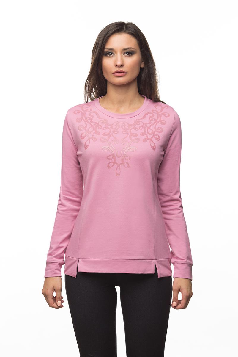 Купить Свитшот женский BeGood, цвет: розовый. AW16-BGUZ-708. Размер XS (42)