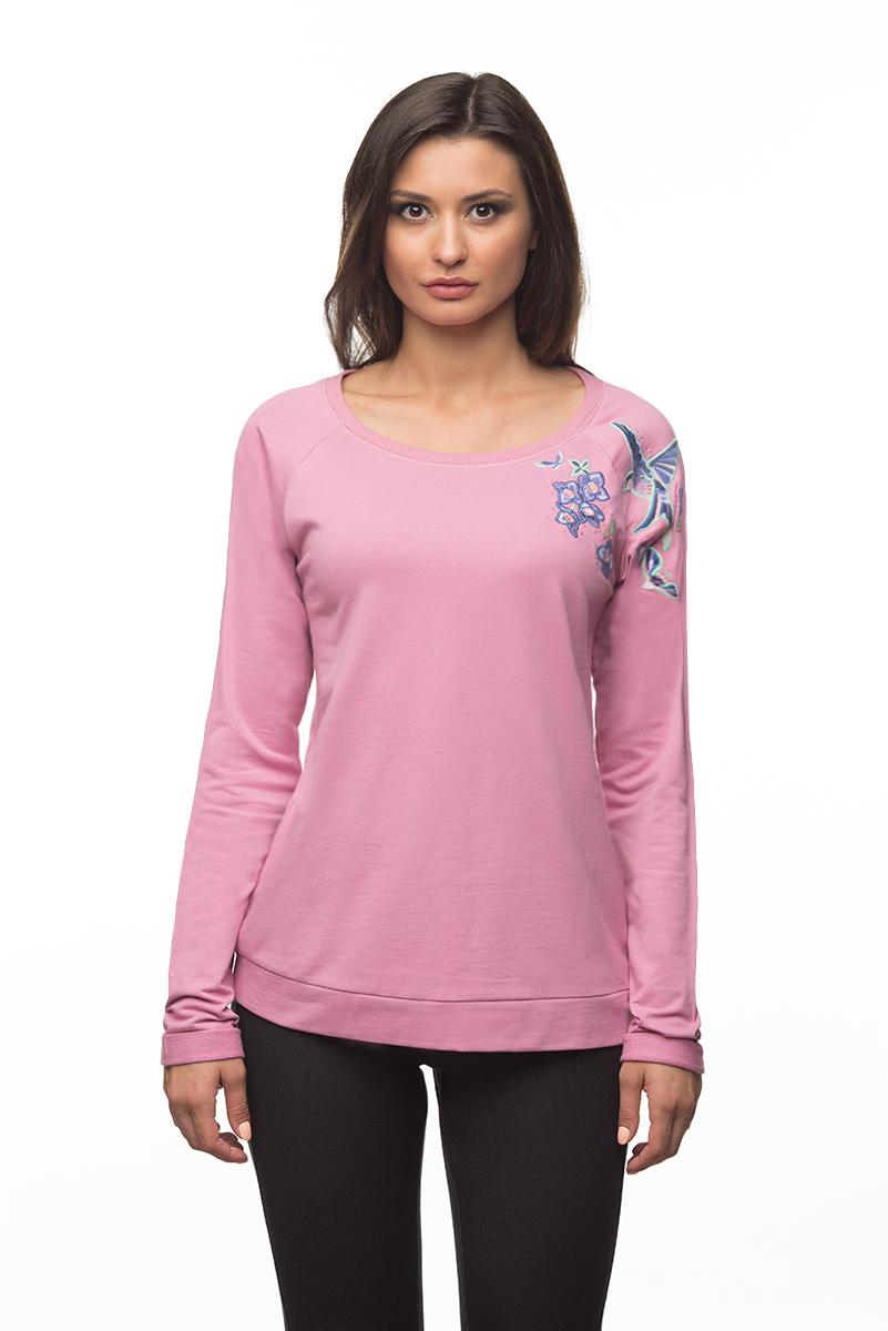 Купить Свитшот женский BeGood, цвет: темно-розовый. AW16-BGUZ-710. Размер XXXXL (56)