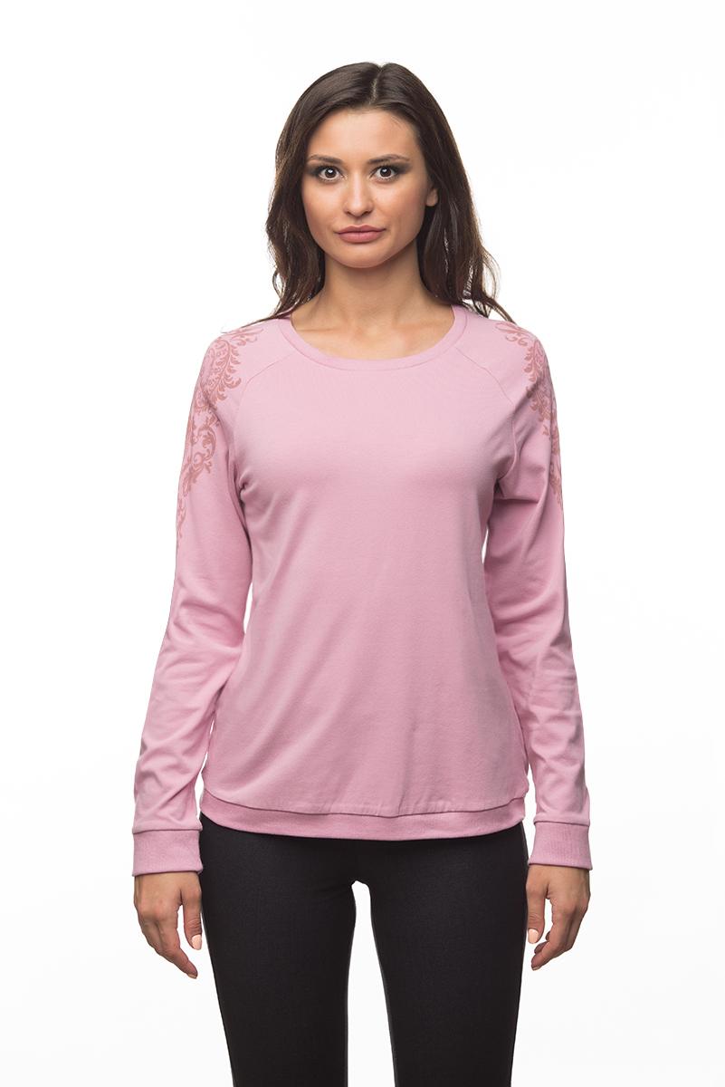 Купить Свитшот женский BeGood, цвет: розовый. AW16-BGUZ-714. Размер XS (42)
