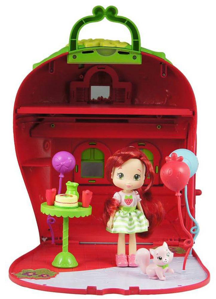 Шарлотта Земляничка Игровой набор с мини-куклой Земляничный дом шарлотта земляничка мини кукла земляничка с сумкой