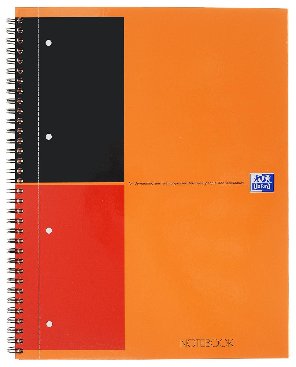 Oxford Тетрадь International Notebook 80 листов в линейку цвет оранжевый формат А4+ oxford тетрадь international easybook 80 листов в клетку формат а4