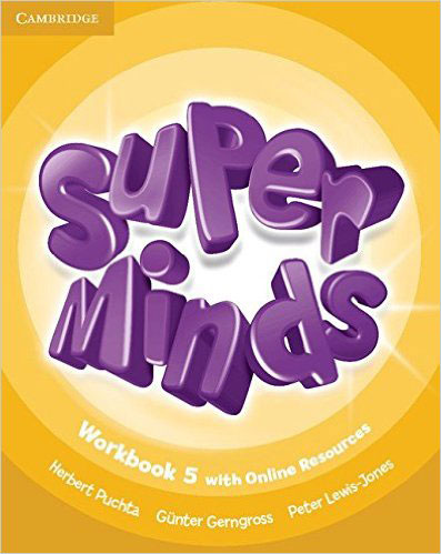 Super Minds: Level 5: Workbook with Online Resources