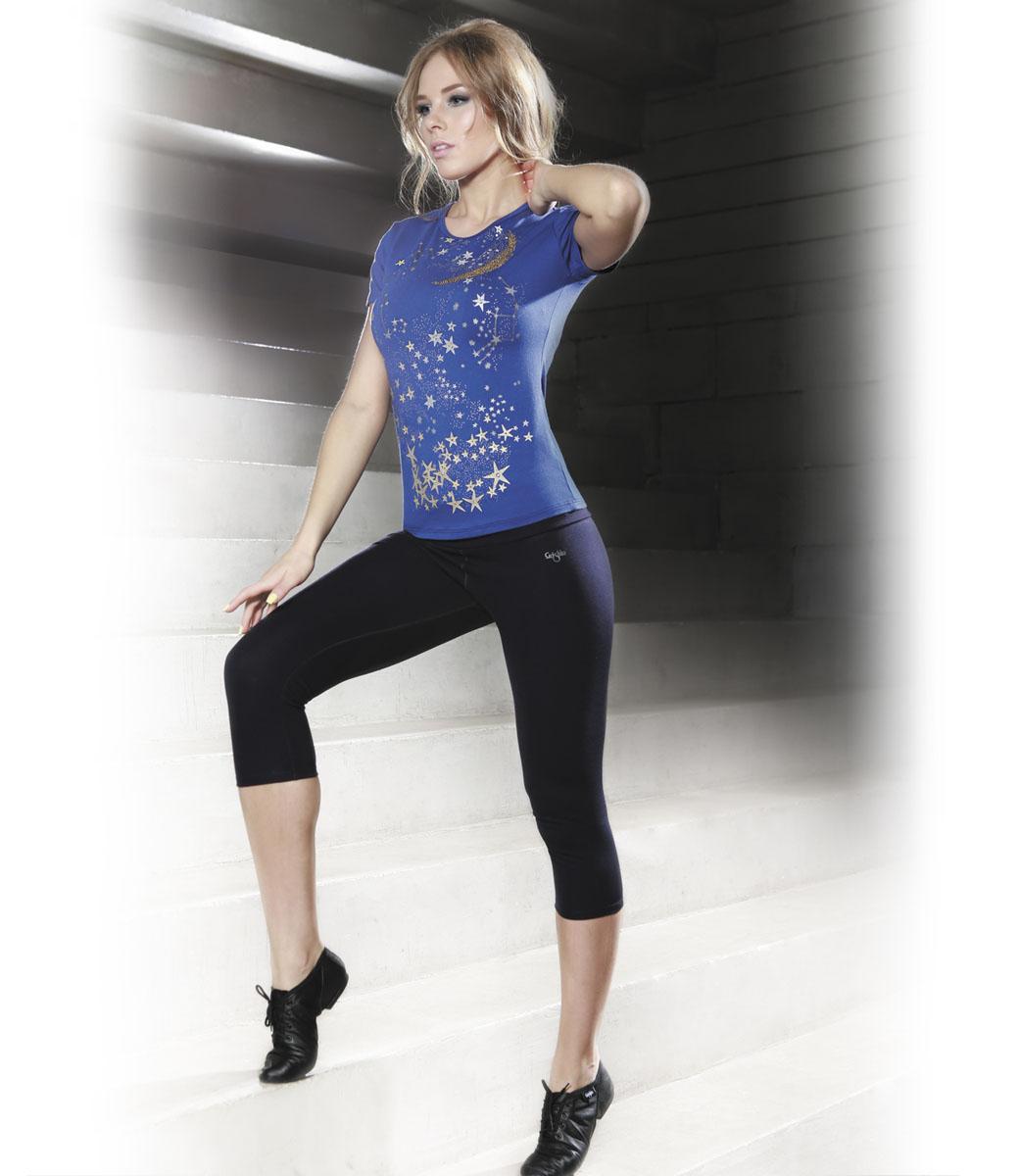 Капри для фитнеса женские Grishko Fitness, цвет: черный. AL-2909. Размер L (48)AL-2909Удобные капри с высоким фиксирующим плотным поясом прекрасно подойдут не только для спортивных тренировок, но и для и людей, ведущих активный образ жизни. Модель выполнена из материала нового поколения - вискозы в сочетании с лайкрой и полиамидом. Благодаря уникальным свойствам этого материала капри обладают высокой степенью утяжки и повышенной износостойкостью. Модель спереди дополнена небольшой термоаппликацией с логотипом Grishko. Такие капри подарят вам максимальный комфорт во время тренировок и повысят их эффективность.
