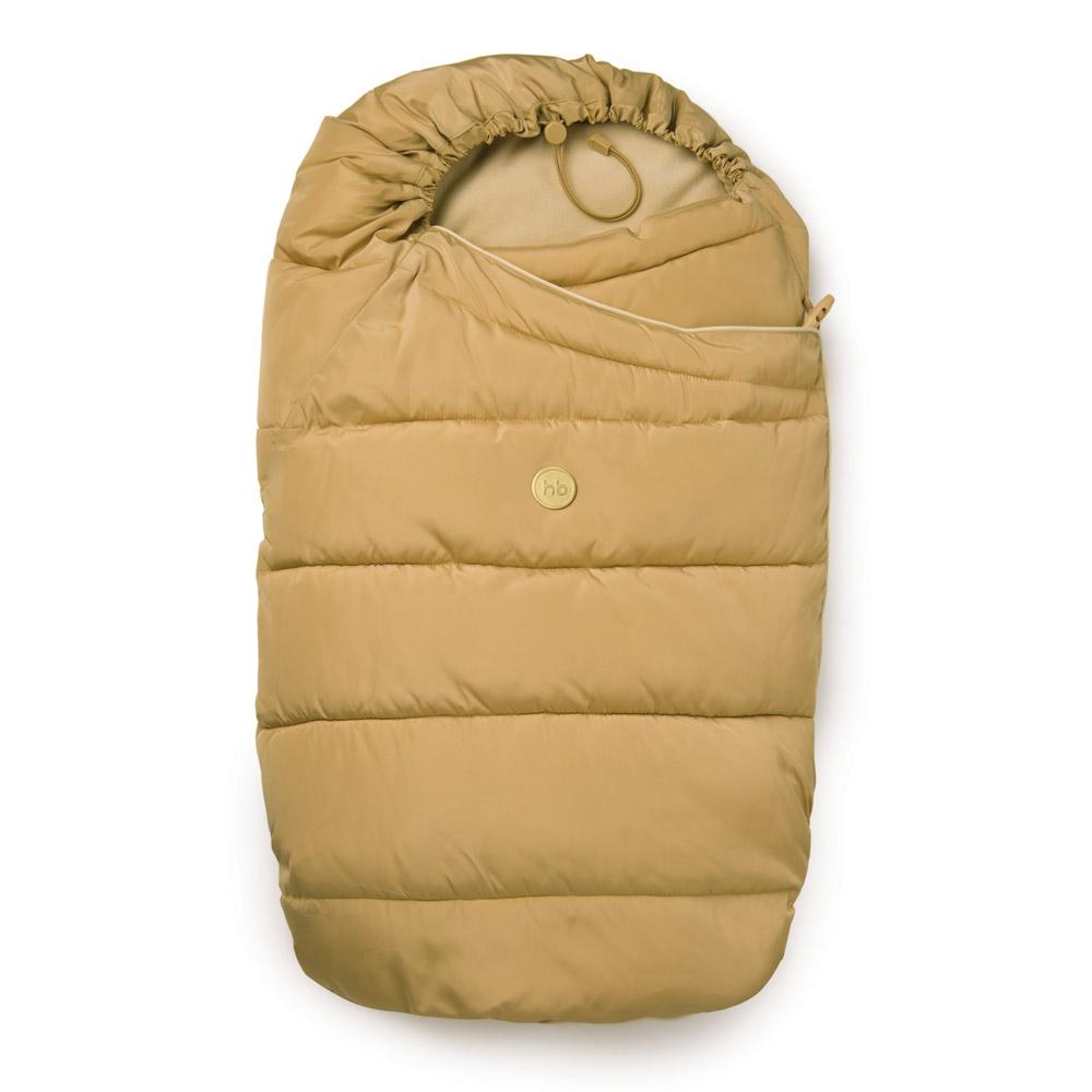 Конверт-трансформер для новорожденного Happy Baby Muffy, цвет: бежевый. 40000. Размер 0/12 месяцев конверт детский happy baby happy baby конверт на выписку зимний muffy с синтепухом графит