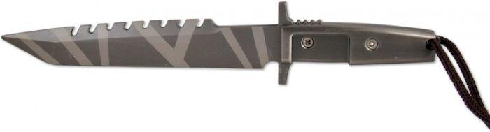 Брелок-стальной нож Ножемир, общая длина 15,5 см. E-206E-206Нож-брелок - стильный необычный аксессуар. Нож изготовлен из металла. Клинок ножа обоюдоострый.