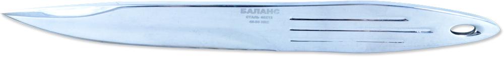 Нож метательный Ножемир Баланс, нержавеющая сталь, с ножнами, общая длина 21,3 см. M-117 развивающие игрушки unimax волшебная развивающая пирамида
