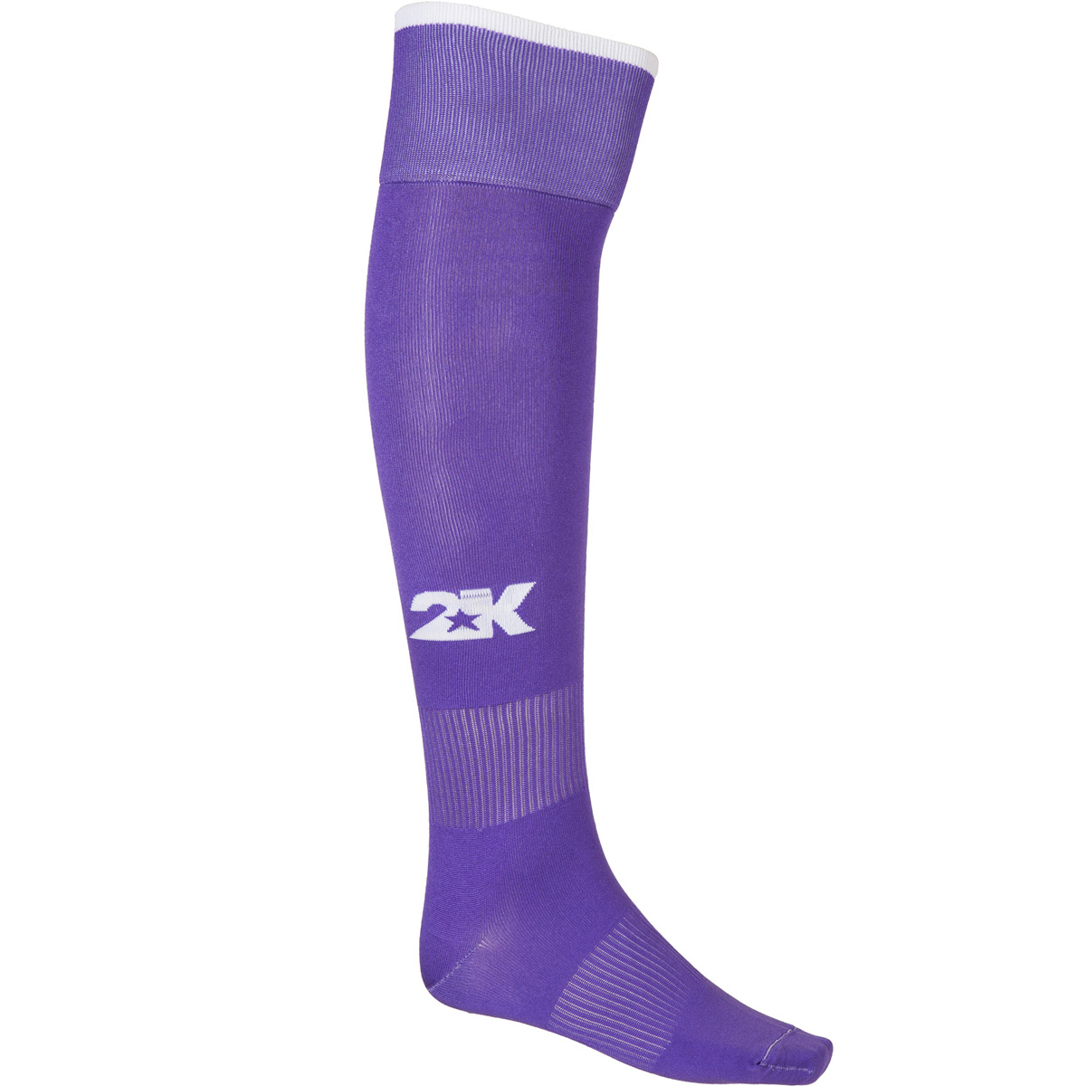 Гетры футбольные 2K Sport Classic, цвет: фиолетовый, белый. 120334. Размер 36/40120334_violet/whiteКлассические футбольные гетры выполнены из высококачественного материала. Оформлены логотипом бренда.