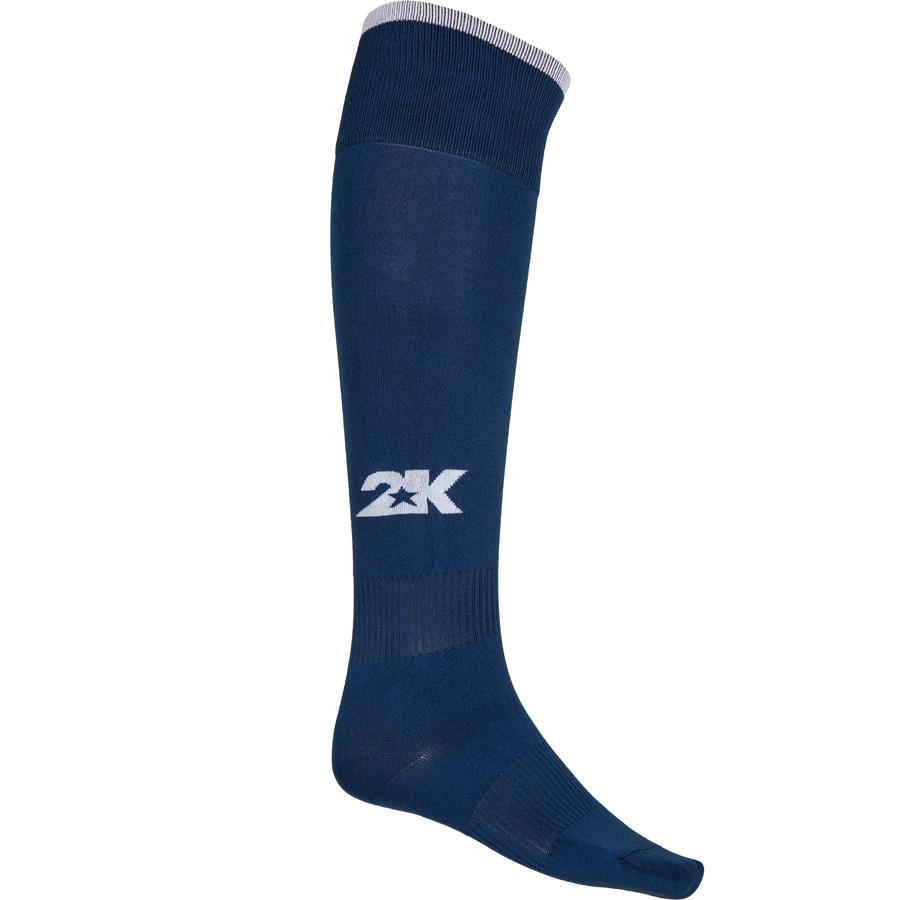 Гетры футбольные 2K Sport Classic, цвет: темно-синий, белый. 120334. Размер 41/46120334_navy/whiteКлассические футбольные гетры выполнены из высококачественного материала. Оформлены логотипом бренда.